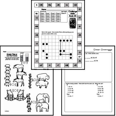 Weekly Math Worksheets for March 29