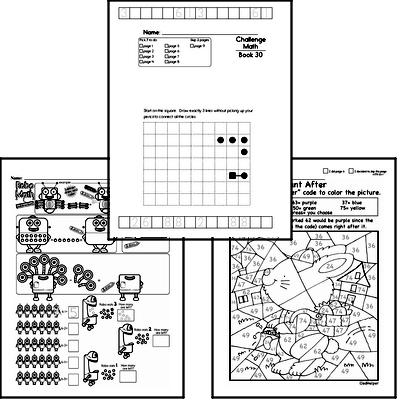 Weekly Math Worksheets for March 22