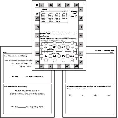 Weekly Math Workbook #33