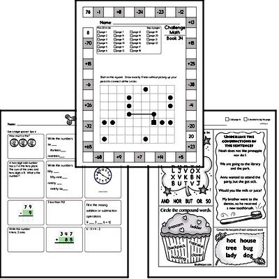 Weekly Math Worksheets for May 1