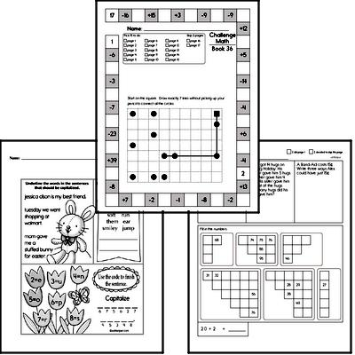 Weekly Math Worksheets for May 10