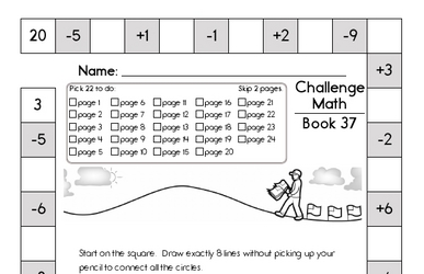 Weekly Math Worksheets for May 11