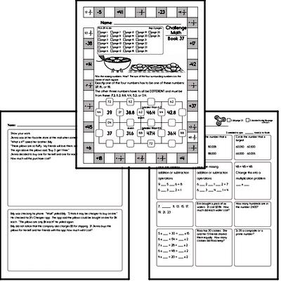 Weekly Math Workbook #37