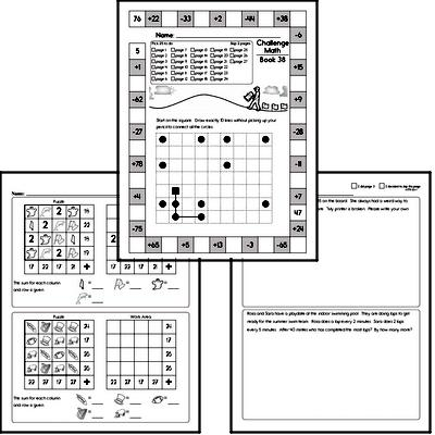 Free Third Grade PDF Math Worksheets | edHelper.com