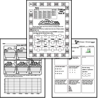Free Fourth Grade PDF Math Worksheets | edHelper.com