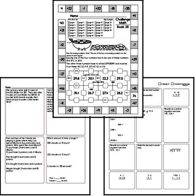 Sixth Grade Pdf Math Worksheets Free Printable Math Pdfs Edhelper Com