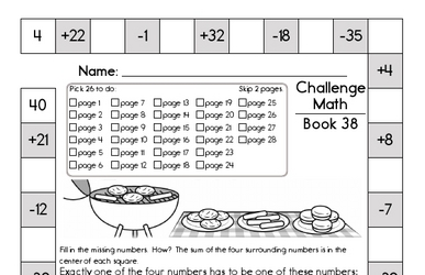 This Week's Math Review Book for Fifth Graders - Updated Each Week