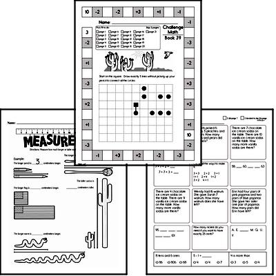 Weekly Math Worksheets for May 24