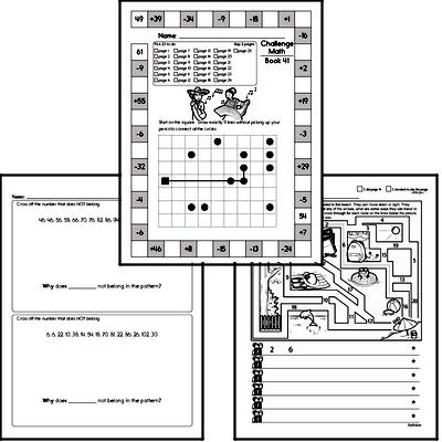 Weekly Math Worksheets for June 14