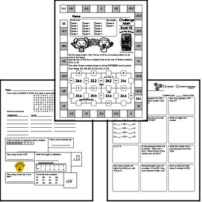 Weekly Math Workbook #42