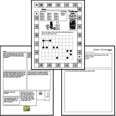 Weekly Math Workbook #43