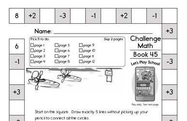 Weekly Math Worksheets for July 6