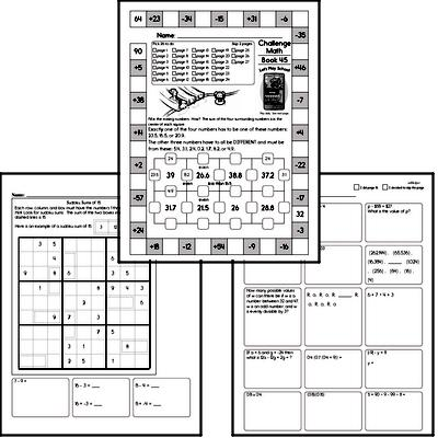 Weekly Math Workbook #45