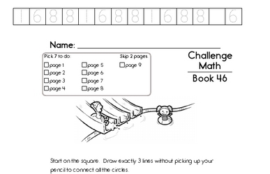 Weekly Math Worksheets for July 18