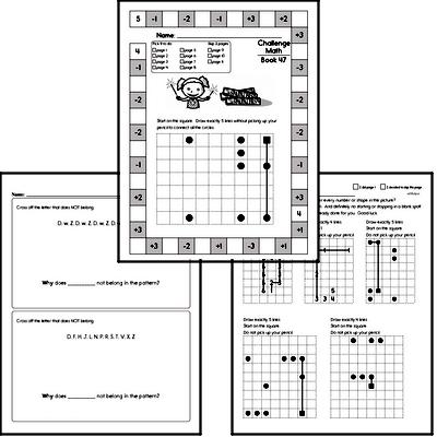 Weekly Math Worksheets for July 19