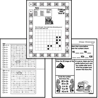 Weekly Math Workbook #50