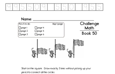 Weekly Math Worksheets for August 10