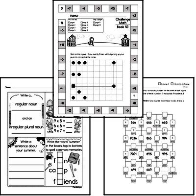 Weekly Math Workbook #53
