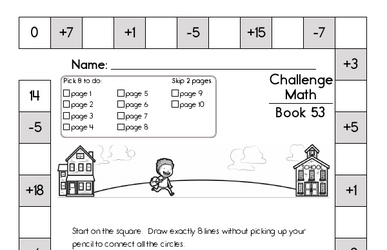 Weekly Math Worksheets for August 31