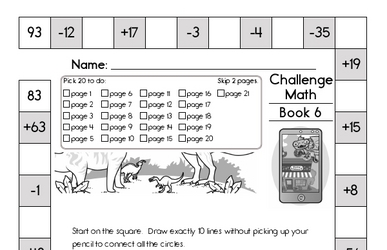 Weekly Math Worksheets for October 7