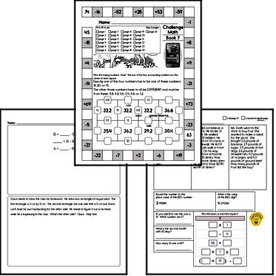 Weekly Math Workbooks