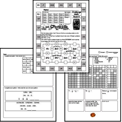 Weekly Math Workbook #8