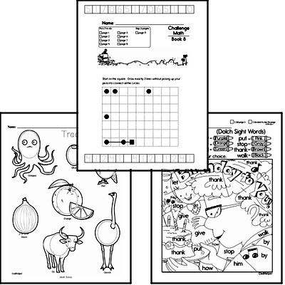 Weekly Math Worksheets for October 19