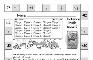 Weekly Math Worksheets for November 1
