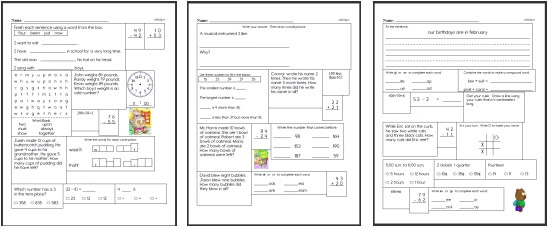 Second Grade Math Worksheets – Second Grade Math Practice Worksheets