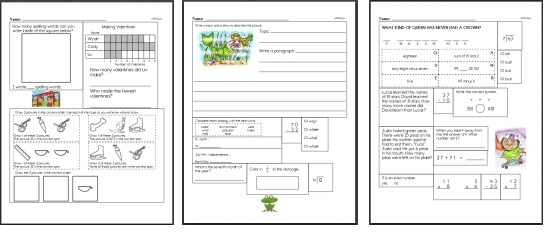 Third Grade Math Worksheets – Third Grade Math Review Worksheets