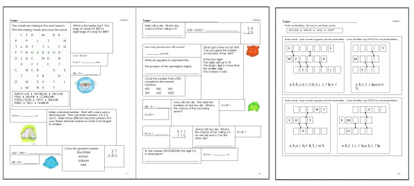 Sixth Grade Math Worksheets – Input and Output Math Worksheets