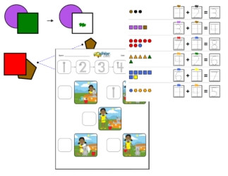 Preschool Math Worksheets And Workbooks Edhelper