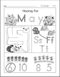 Preschool Workbooks