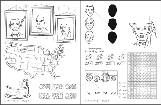 Presidents Day Dot to Dots Worksheets Lessons and Printables – Presidents Day Kindergarten Worksheets