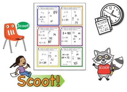 Scoot Math Games