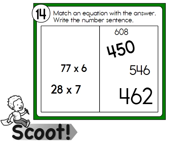 Scoot Multiplication Math Games