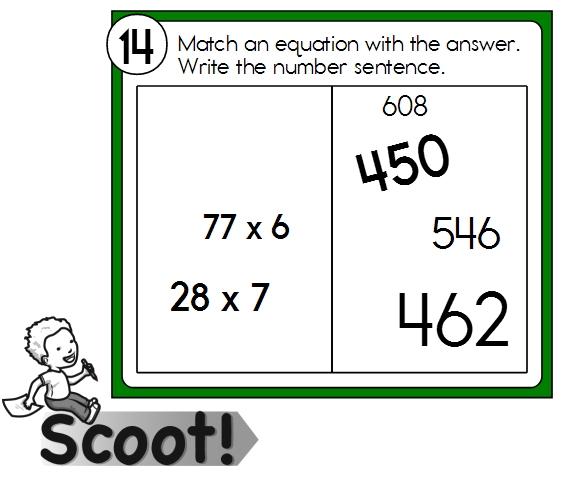 Scoot Multiplication Math Games