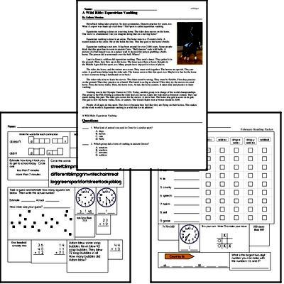 Free Second Grade Reading Comprehension PDF Books | edHelper com