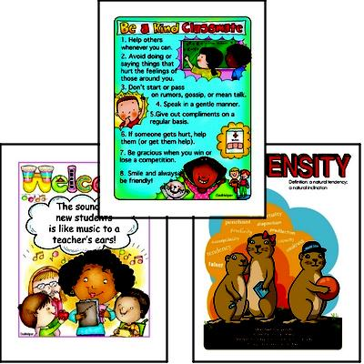 Poster Packs for Teachers' Bulletin Boards