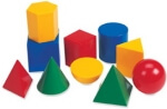 Solid Figures and Shapes Worksheets