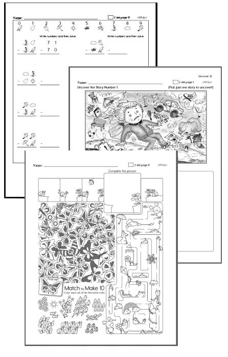 4th grade Workbooks for March