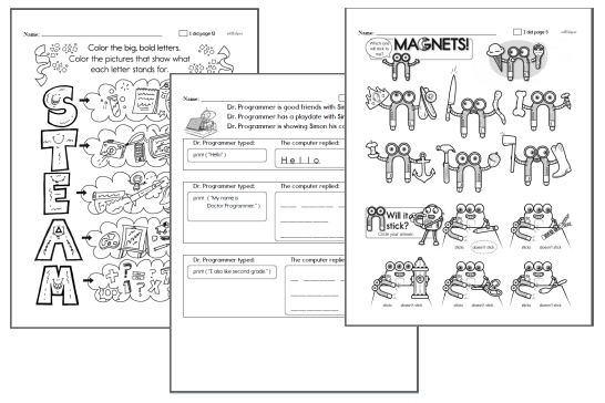 STEAM Workbooks