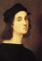 Raffaello Sanzio<BR>Raphael, One of the Big Three of the Renaissance