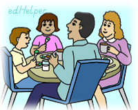 Family Meal Month<BR>Hooray for Family Meals