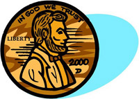 Lincoln's Penny<BR>Pennies for Lincoln