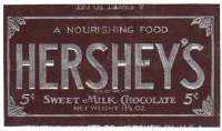 Hershey's Chocolate Debuts<BR>Milton Hershey: Candy Maker
