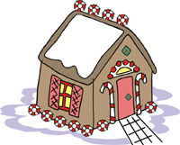 Gingerbread House Day<BR>The Sweetest House