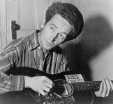 Woody Guthrie<BR>Blowin' Down That Old Dusty Road