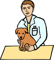 National Animal Poison Prevention Week<BR>Ginger's Visit to the Vet