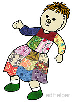 I Need a Patch for That Day<BR>The Patchwork Doll